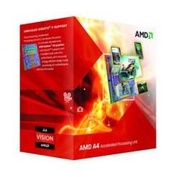 AMD - A series A4-5300 3.4GHz 1MB L2 Caja procesador