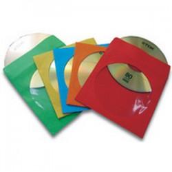 Fellowes - 9068901 Funda 1discos Multicolor funda para discos ópticos