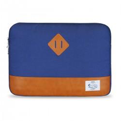 "e-Vitta - Sleeve Heritage maletines para portátil 39,6 cm (15.6"") Funda Azul, Marrón"