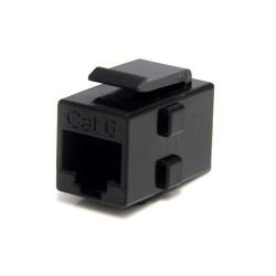 StarTech.com - Caja de Empalme Acoplador Keystone Cable Cat5 Ethernet UTP - 2x Hembra RJ45 - Negro