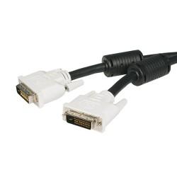 StarTech.com - Cable de 2m DVI-D de Doble Enlace - Macho a Macho