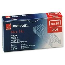 Rexel - Grapasnº16 (22-24/6)Caja1000u.