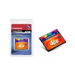 Transcend - TS4GCF133 memoria flash 4 GB CompactFlash MLC