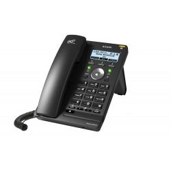 Alcatel - Temporis IP251G Terminal con conexión por cable 6líneas LED Negro teléfono IP