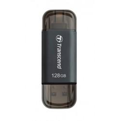 Transcend - JetFlash JetDrive Go 300 128GB 128GB USB 3.0 (3.1 Gen 1) Conector USB Tipo A Negro unidad flash USB