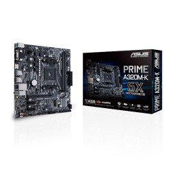 ASUS - MB PRIME A320M-K Zócalo AM4 micro ATX AMD A320