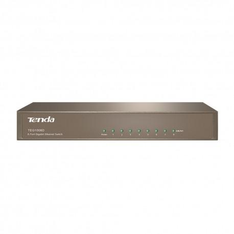 Tenda - TEG1008D Ethernet Gris router