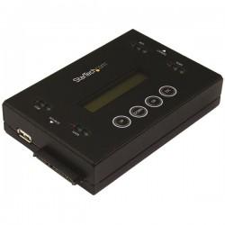 StarTech.com - Borrador y Clonador de Unidades de Disco SATA de 2,5 y 3,5 - Copiador de Unidades de Memoria Flash U