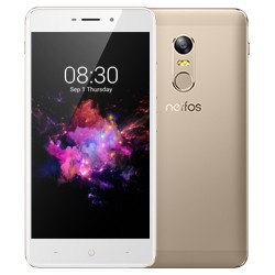 "Neffos - X1 12,7 cm (5"") 2 GB 16 GB SIM doble Oro 2250 mAh"