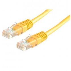 Nilox - 3.0m Cat6 UTP 3m Cat6 U/UTP (UTP) Amarillo cable de red