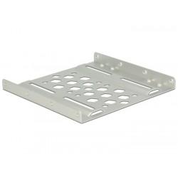 """DeLOCK - 21289 panel bahía disco duro 8,89 cm (3.5"""") Panel de instalación Plata"""