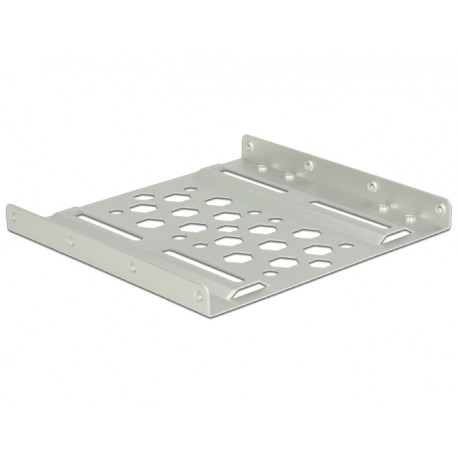 "DeLOCK - 21289 3.5"" Carrier panel Plata panel bahía disco duro"