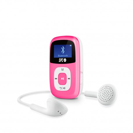 SPC - Firefly Reproductor de MP3 8GB Rosa
