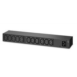 APC - AP6020A unidad de distribución de energía (PDU) 0U/1U Negro 13 salidas AC