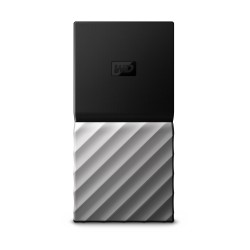 Western Digital - My Passport 1000 GB Negro, Plata