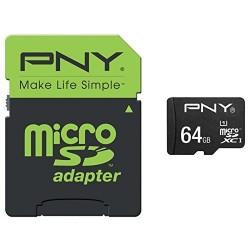 PNY - Performance memoria flash 64 GB MicroSDXC Clase 10 UHS-I