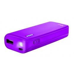 Trust - PRIMO Ión de litio 4400mAh Púrpura batería externa