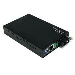 StarTech.com - Conversor de Medios Ethernet 10/100 Mbps a Fibra Modo Único Monomodo Conector SC - 30km