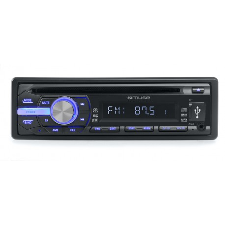 Muse - M-1009 MR 40W Negro receptor multimedia para coche