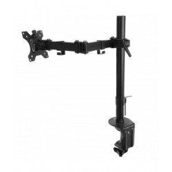 """Ewent - EW1510 soporte de mesa para pantalla plana 68,6 cm (27"""") Abrazadera Negro"""