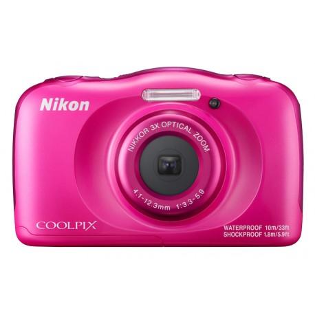 """Nikon - COOLPIX W100 Kit Cámara compacta 13.2MP 1/3.1"""" CMOS 4160 x 3120Pixeles Rosa"""