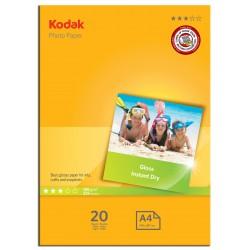 Kodak - Papel fotografico A4 de 180 gr en paquetes de 20 hojas