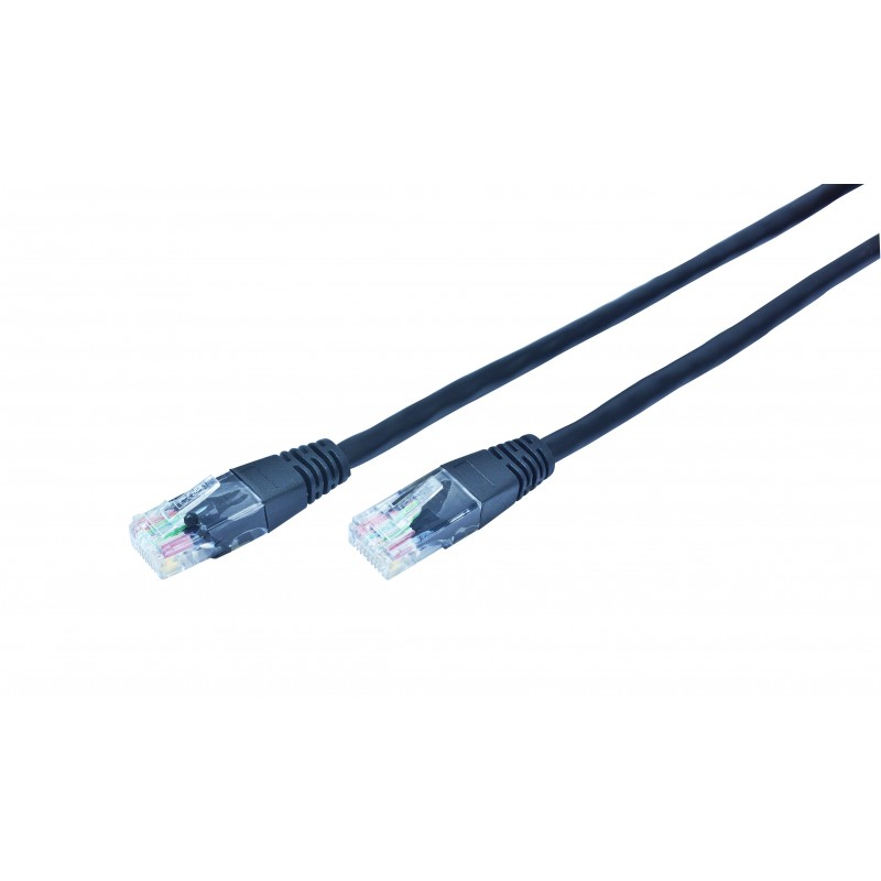 Gembird - PP12-3M/BK cable de red