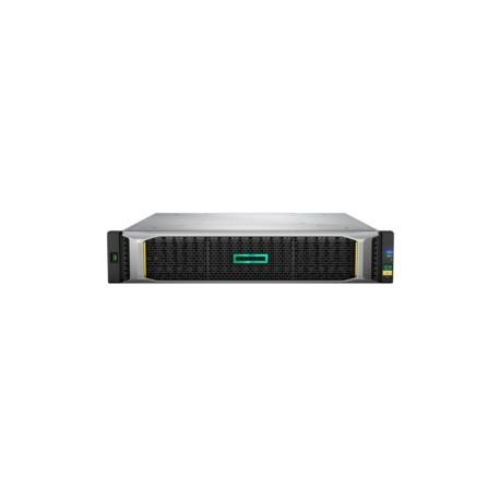 Hewlett Packard Enterprise - MSA 2050 SAN Dual Controller SFF Bastidor (2U) Negro, Plata unidad de disco multiple