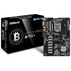 Asrock - H110 Pro BTC+ Intel H110 LGA 1151 (Zócalo H4) ATX