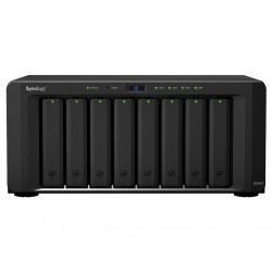 Synology - DiskStation DS1817 servidor de almacenamiento NAS Escritorio Ethernet Negro Alpine AL-314