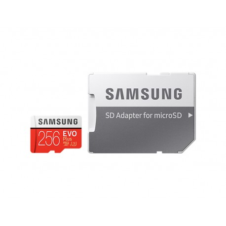 Samsung - EVO Plus MB-MC256G 256GB MicroSDXC UHS-I Clase 10 memoria flash