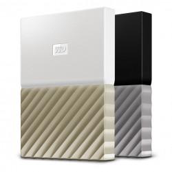 Western Digital - My Passport Ultra disco duro externo 4000 GB Oro, Blanco