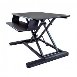 StarTech.com - Conversor de Escritorio a Estación de Pie y Sentado - Plataforma de Trabajo de 88cm Ajustable en Alt