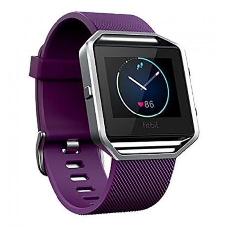 Fitbit - Blaze Pantalla táctil Bluetooth Acero inoxidable reloj deportivo - 22109444