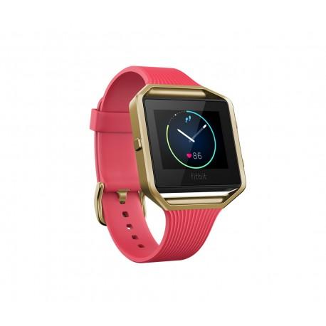 Fitbit - Blaze Pantalla táctil Bluetooth Oro, Rosa reloj deportivo - 22108564