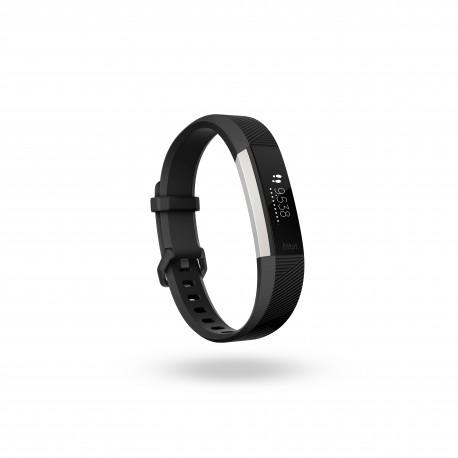 Fitbit - Alta HR Wristband activity tracker OLED Almbrico/Inalmbrico Negro Acero inoxidable