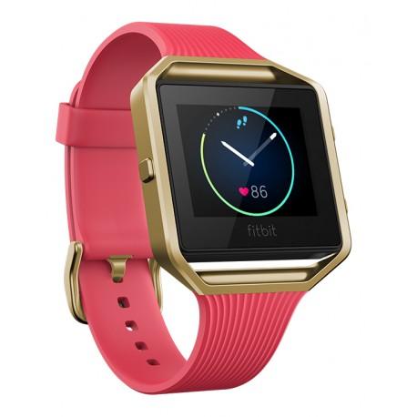 Fitbit - Blaze Pantalla táctil Bluetooth Oro, Rosa reloj deportivo