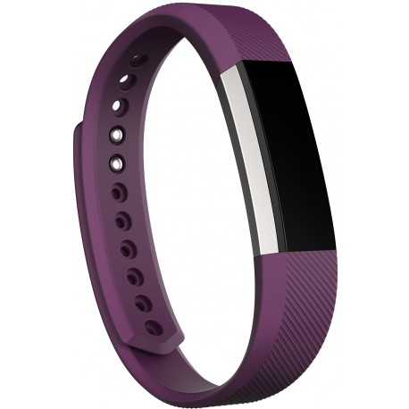Fitbit - Alta Wristband activity tracker OLED Inalámbrico Púrpura, Acero inoxidable
