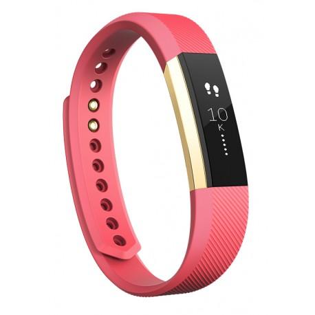 Fitbit - Alta Wristband activity tracker OLED Inalámbrico Oro, Rosa