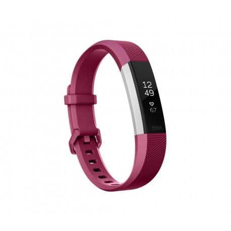 Fitbit - Alta HR Wristband activity tracker OLED Almbrico/Inalmbrico Rojo Acero inoxidable