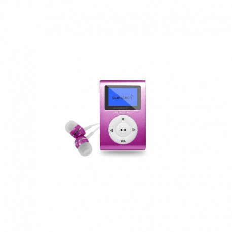 Sunstech - DEDALOIII MP3 4GB Rosa