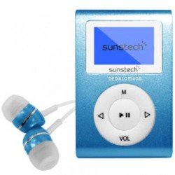 Sunstech - DEDALOIII MP3 4GB Azul