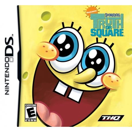 THQ - SpongeBob: Truth or Square Nintendo DS Español vídeo juego