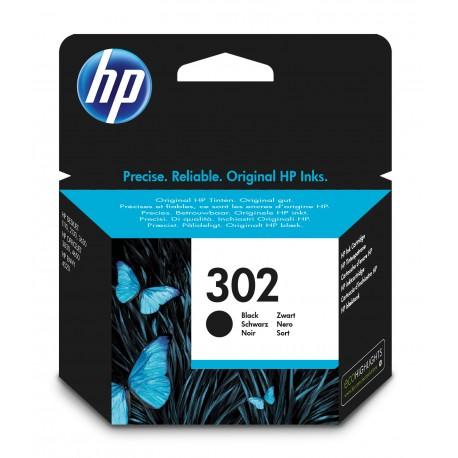 HP - Cartucho de tinta original 302 negro