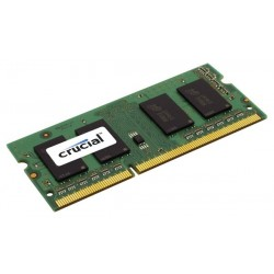 Crucial - 4GB DDR3-1333 SO-DIMM CL9 4GB DDR3 1333MHz módulo de memoria