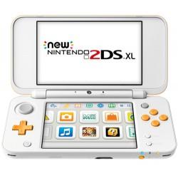 "Nintendo - New 2DS XL 4.88"" Pantalla táctil Wifi Naranja, Color blanco videoconsola portátil"