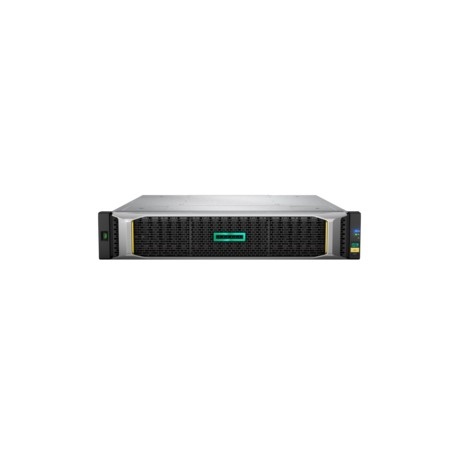Hewlett Packard Enterprise - MSA 2052 SAN Dual Controller SFF Bastidor (2U) Negro, Plata unidad de disco multiple