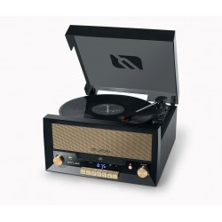 Muse - MT-110 B Direct drive audio turntable Negro, Marrón