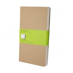 Moleskine - QP418 Marrón 80hojas cuaderno y block
