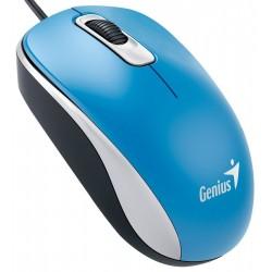 Genius - DX-110 ratón USB Óptico 1000 DPI Azul